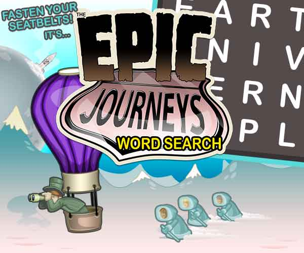 Epic Journeys Word Search