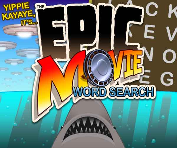 Epic Movie Word Search