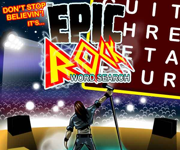 Epic Rock Word Search