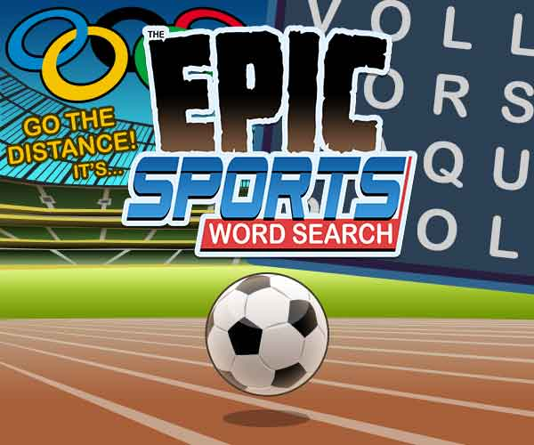 Epic Sports Word Search
