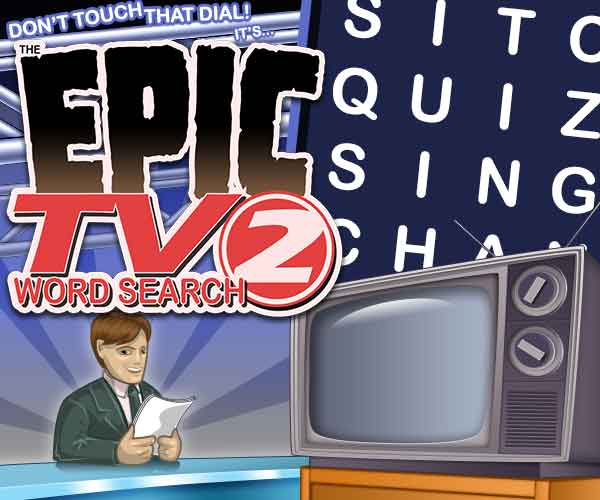 Epic TV Word Search 2