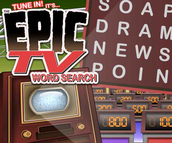 Epic TV Word Search